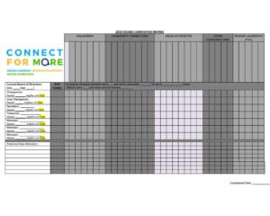 Board Composition Matrix
