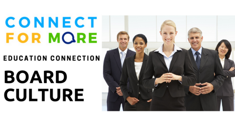 Board Culture Course | Connect for More