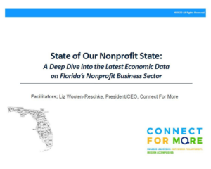 Virtual Workshop Wednesday State of Our Nonprofit State